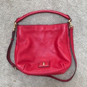 Marc by Marc Jacobs Red Hobo Bag